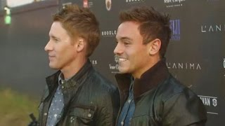 Tom Daley announces engagement to boyfriend Dustin Lance Black