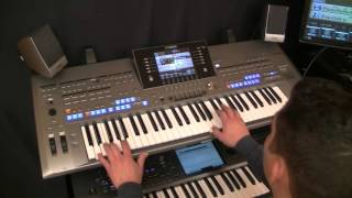 Kylie Minogue - James Corden : Only you (Yamaha Tyros 5 Cover : PETRY GILLES)