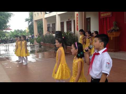Bài Hát Trường Em - HS tiểu học Sơn Cẩm 3 - Phú Lương- Thái Nguyên