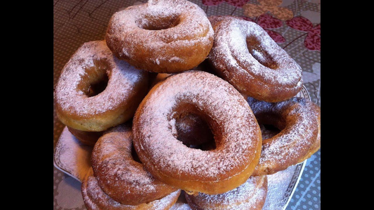 Пошаговый рецепт вкусных пончиков