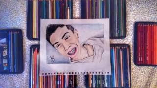 Dibujando a CORNELIO VEGA JR - Sketching ACP (speed drawing)