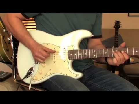 Fender Classic Player Strat Part1 (clean & light overdrive)