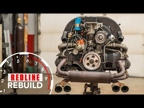 Volkswagen Beetle Air-cooled Flat-four Engine Rebuild Time-Lapse | Redline Rebuild - S1E7