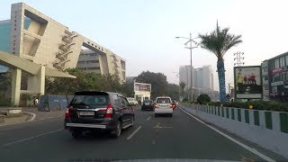 Driving in Hyderabad (HITEC City) - Telangana, India