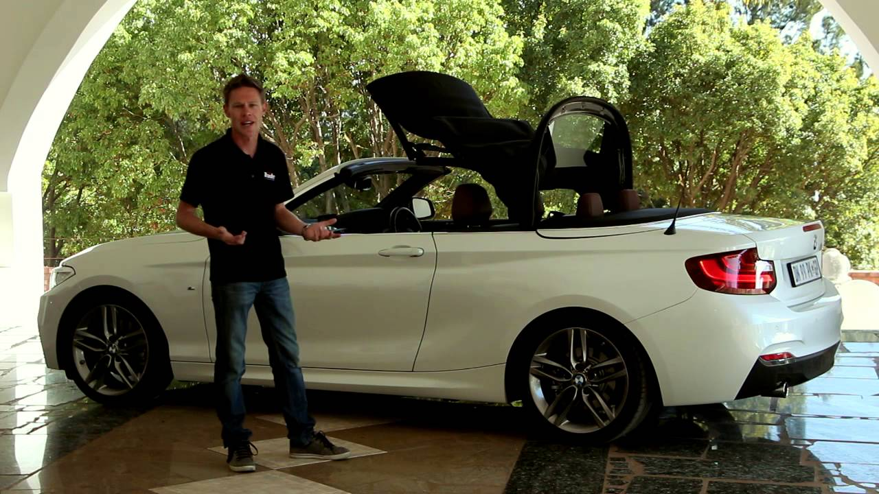 2015 Bmw 220i Convertible Car Review Youtube