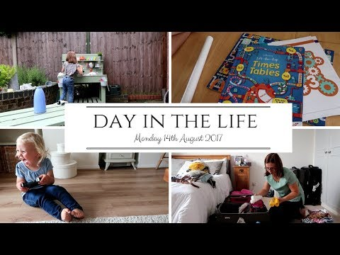DAY IN THE LIFE // Holiday Unpacking, Times Table Books & Remote Control Car Fun
