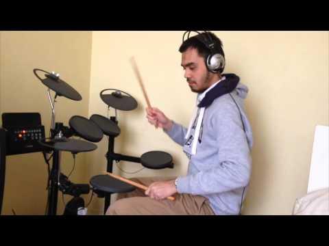 Ninja Hatori Opening Indonesia (Drum cover by Hafiz)