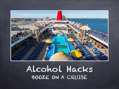 EASY Alcohol Hacks Cruise Lines Don't Want You To Know!