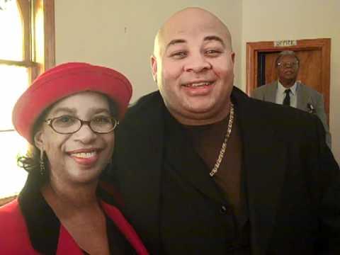 Lula Herrington Davis and Binky Gaskins smiling on...