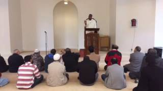 Facebook Live: Imam Magid, past ISNA President, gives Friday sermon at ISNA Headquarters