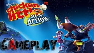 Chicken Little: Ace in Action Gameplay (PC/HD)