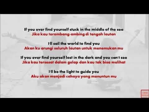 COUNT ON ME(Lirik & Terjemahan) BRUNO MARS
