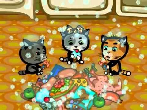 Кадры из фильма смотреть онлайн три котенка все серии подряд 3 сезон