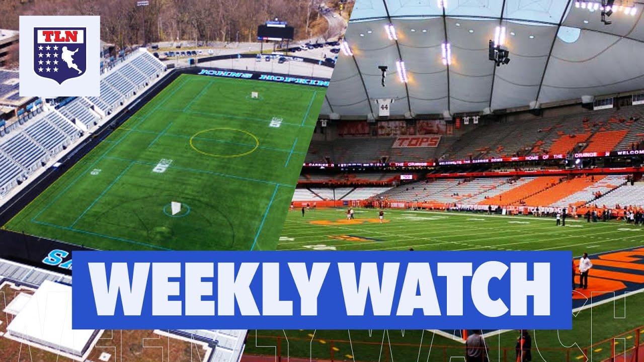 THE BEST COLLEGE LACROSSE STADIUMS | Weekly Watch