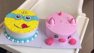 Cách làm bánh kem Minion #1 - How to make a Minion Cake
