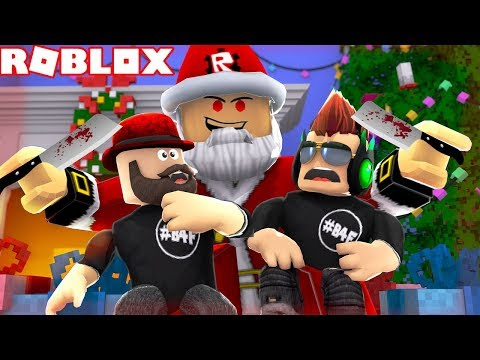 SANTA IS MAKING US WORK IN THIS WORKSHOP! / ROBLOX ESCAPE SANTAS WORKSHOP OBBY