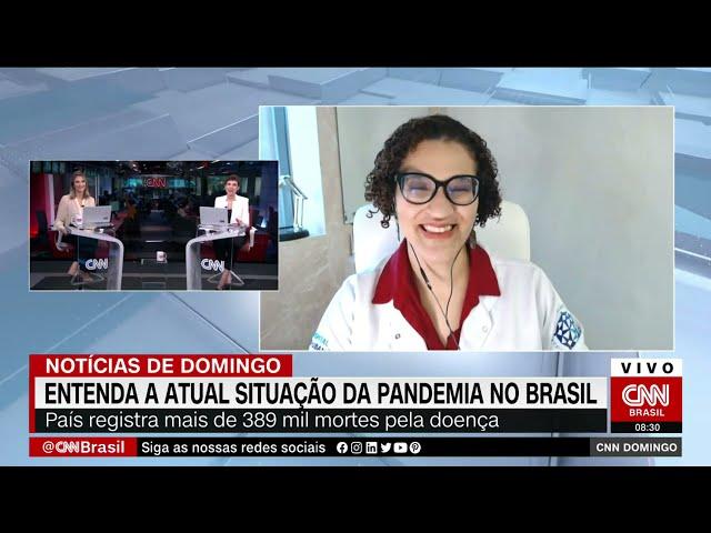 Entrevista CNN MANHÃ 25/04/2021 - Dra Keilla Infectologista