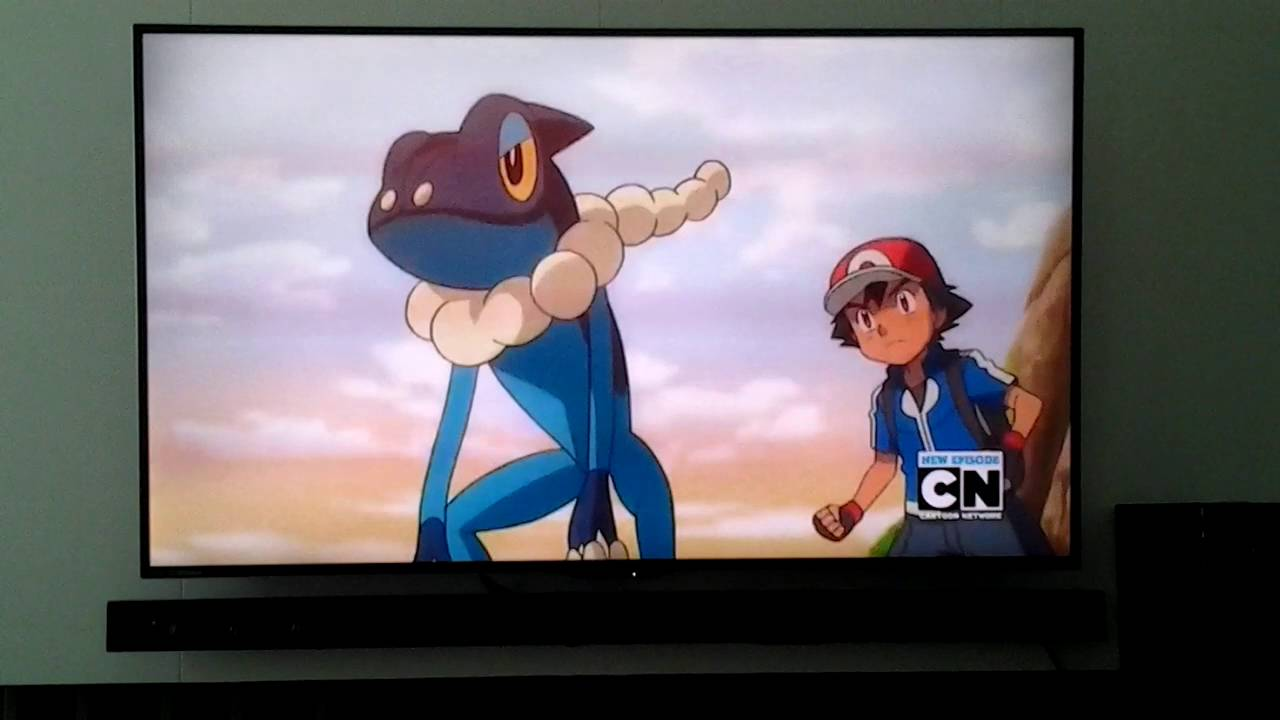ash s froakie evolve to frogadier youtube