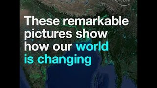 These remarkable pictures show how our world is changing