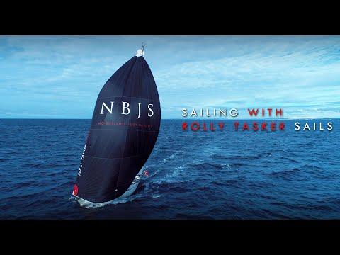 Sailing with Rolly Tasker Sails! - Erik Aanderaa