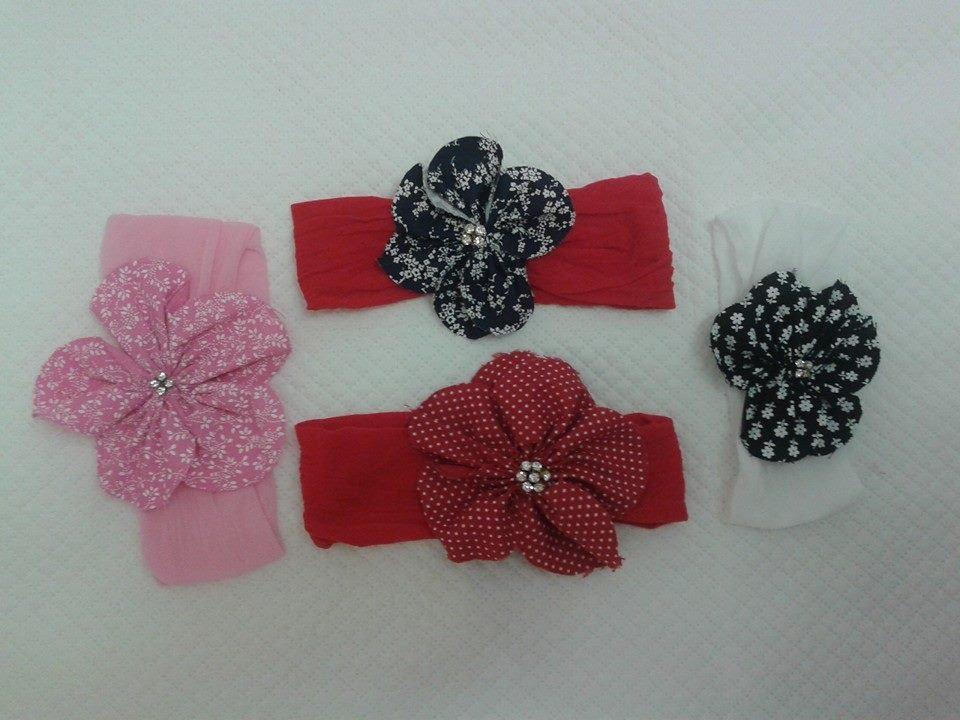 Tiara de meia de seda com flor de tecido - Passo a Pa - YouTube a30eda7b1d7