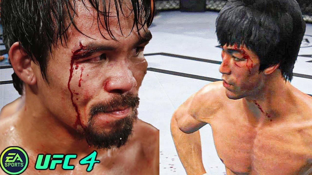 UFC 4   Bruce Lee VS Manny Pacquiao    EA SPORTS UFC 4