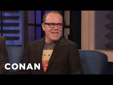 Tom Papa Supports Babies Who Cry On Airplanes - CONAN on TBS