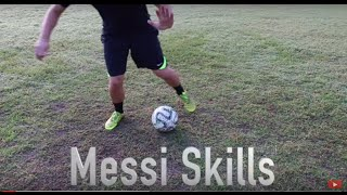 How To Play Like Lionel Messi: Signature Messi Skill Move!
