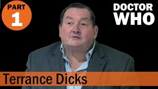 Terrance Dicks Interview at the North Wales Doctor Who Group Part 1