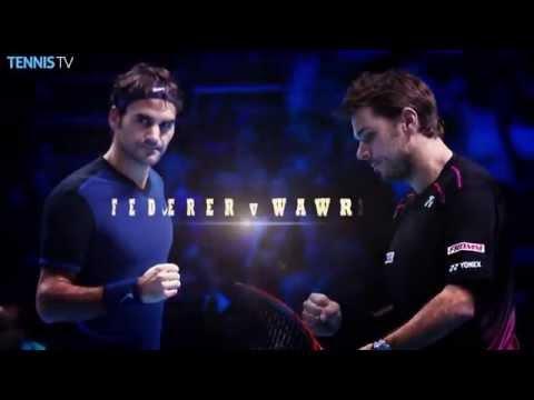 2015 Barclays ATP World Tour Finals Semi Finals - Djokovic, Nadal, Federer & Wawrinka