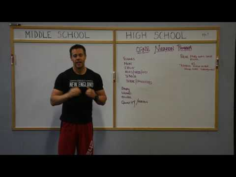 Ben Talk: CFNE Nutrition Program