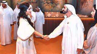 شاهد: افطار لجين عمران مع حاكم دبي محمد بن راشد آل مكتوم في رمضان