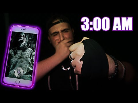DO NOT TALK TO SIRI AT 3:00 AM | *THIS IS WHY* | 3 AM SIRI CHALLENGE!! (SIRI ATTACKED ME)