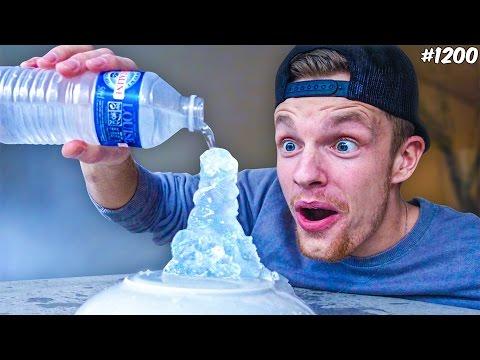WATER NAAR IJS! - ENZOKNOL VLOG #1200