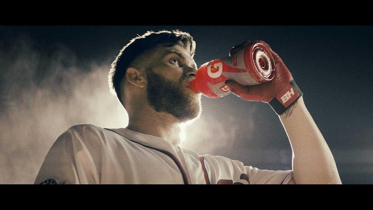 Gatorade Bryce Harper NOTHING BEATS GATORADE YouTube