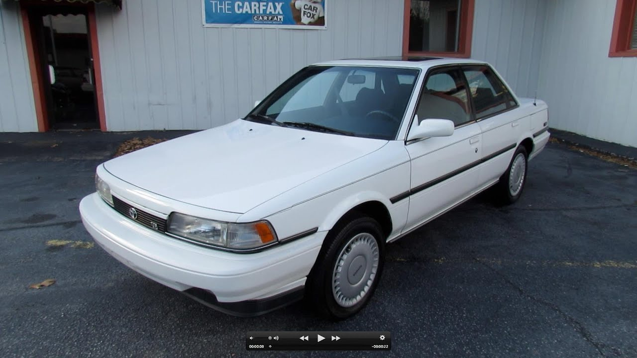 1990 toyota camry le v6 start up exhaust in depth tour and test drive youtube. Black Bedroom Furniture Sets. Home Design Ideas