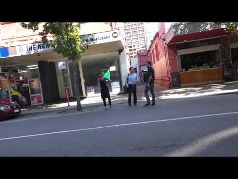Perth public freakout