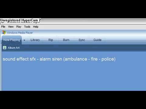 Sound effects   alarm siren  police   ambulance siren    YouTube