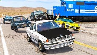 EPIC POLICE CHASES #41 - BeamNG Drive | CRASHdriven