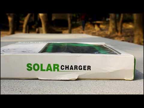Solar Power Bank 5000mah Review Bangla... Amazing price!