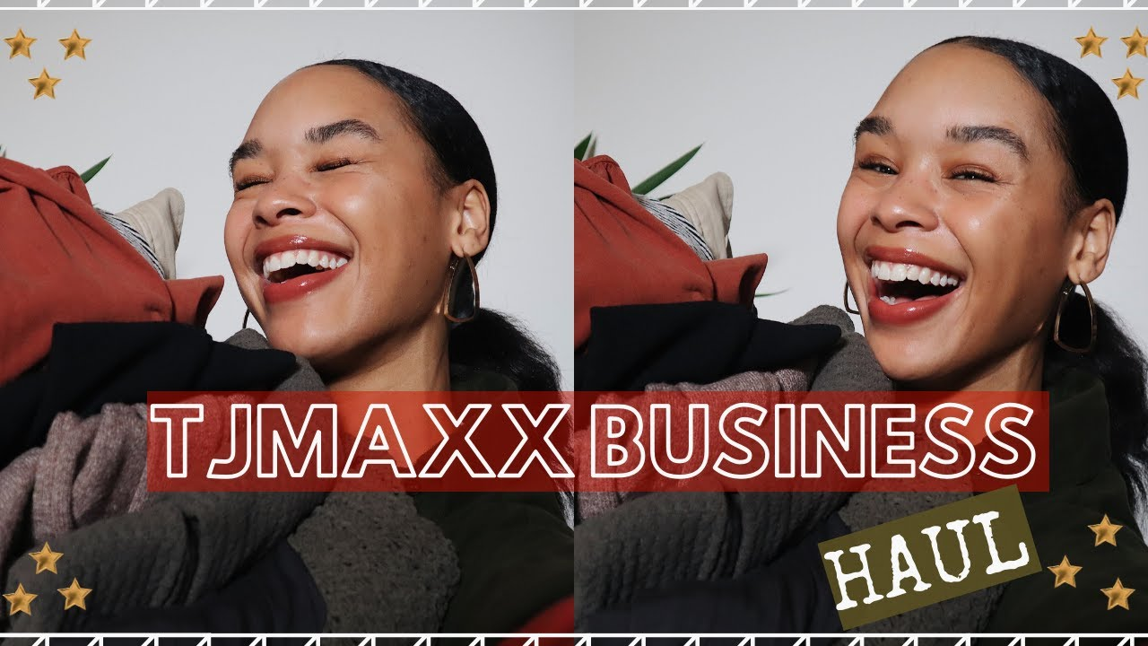 [VIDEO] - TJ MAXX Winter Business Casual Haul! (cute & on a budget) | Alexis Gilbert 4