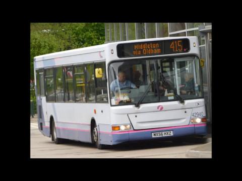 *New Transfer* First Greater Manchester Dennis Dart SLF 42940 (MX56 HXZ) Route 415