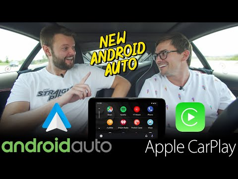 NEW 2019 Android Auto VS Apple Carplay - REAL WORLD TEST