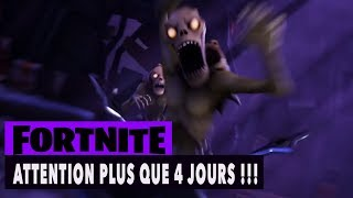 FORTNITE - SAUVER LE MONDE - ATTENTION PLUS QUE 4 JOURS !!!