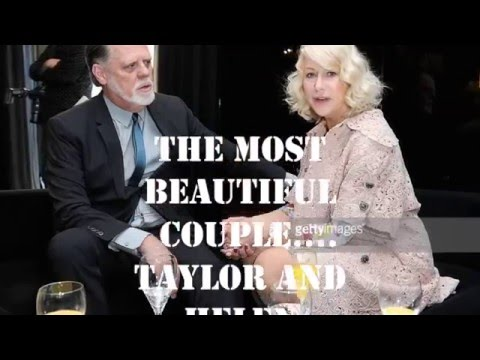 the most beautiful couple Helen Mirren and Taylor Hackford ♥