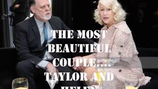 the most beautiful couple -Helen Mirren and Taylor Hackford ♥