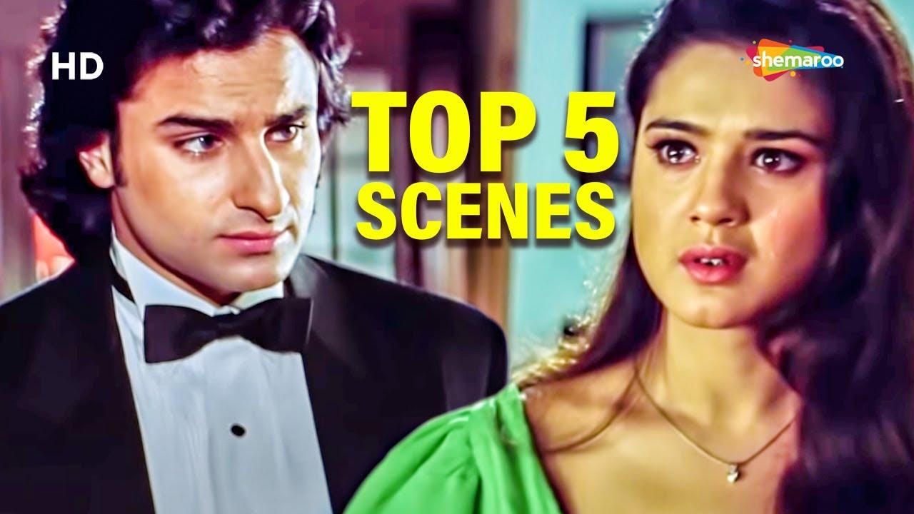 Download ए दिल लाया है बहार | Top 5 Scenes Of Movie | Priety Zinta | Saif Ali Khan | Kya Kehna