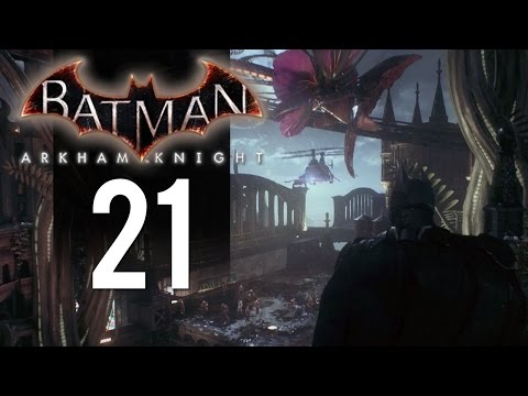 Batman Arkham Knight - Let's Play Part 21 - Bank Robbers (PS4 Gameplay)