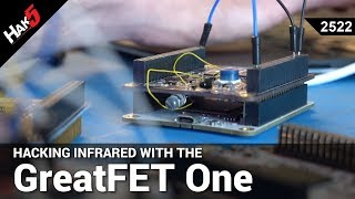 Hacking Infrared with Mike Ossmann and the GreatFET One - Hak5 2522