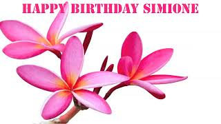 Simione   Flowers & Flores - Happy Birthday